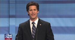 SNL Andy Samberg - Rick Santorum