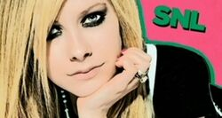SNL Avril Lavigne