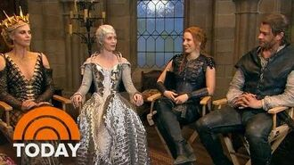 Get A Sneak Peek Behind The Scenes Of 'The Huntsman' TODAY