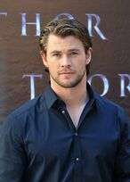 Chris Hemsworth THOR Premiere in Germany