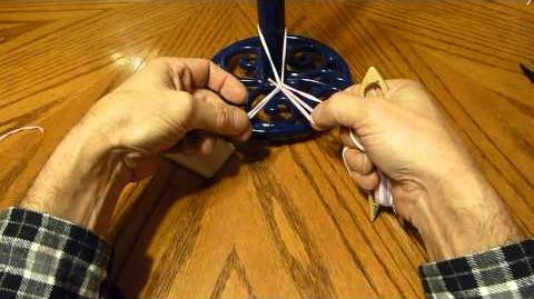 Making a Bubbling Net with a Netting Needle - Part 1