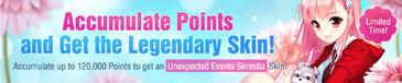 Unexpected Events Serestia banner