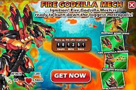 Fire godzila 111