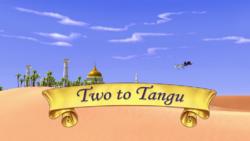 Two to Tangu titlecard