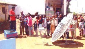Food tasting in Kenya