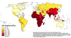 Indoor Air Polution map-deaths