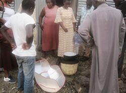 FOTO demonstration on Remba Island, Kenya, 9-24-14