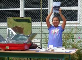 Lund, BC, CA, solar cooking potluck, 8-29-13