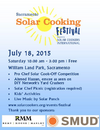 Solar Cooking Festival 2015 graghic, 7-8-15