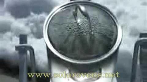 Giant Solar Parabolic Cooker - www.solarovens