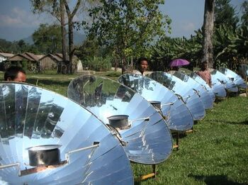 Taida New Energy parabolic cooker