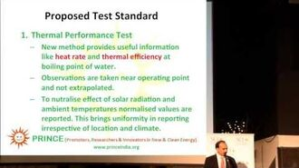 Chandak Development of Universal Standards for Solar Cookers for Use at Test Centers