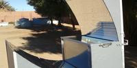 Asymetric CPC box solar cooker