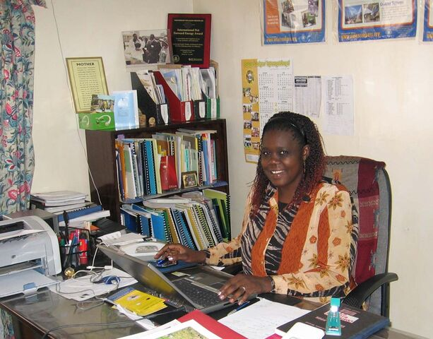 File:Margaret Owino in office March 2008.jpg