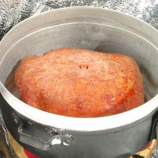 11) Rôti de dinde pané 0,35 kg (réchauffé)
