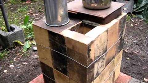 Rocket Stove Ideas 33 - Brick Box Rocket Stove