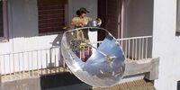 Balcony Solar Cooker