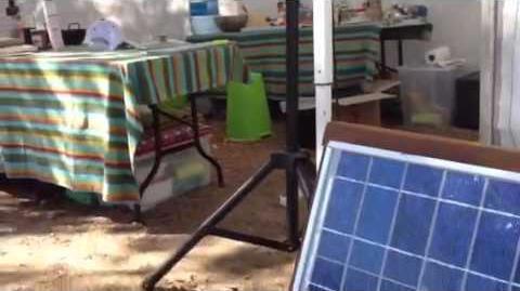 El escenario de cocina solar en el SDE 2012