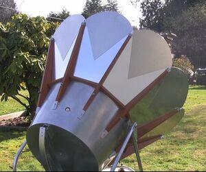 Solar Chef rear 2-7-12