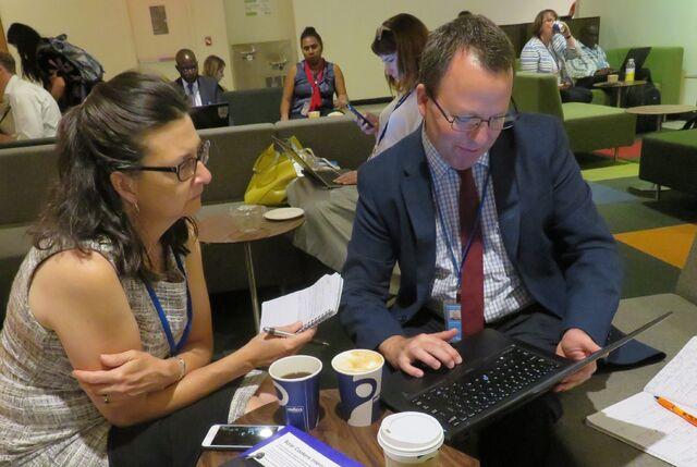 File:Julie Greene and Alan Bigalow at UN July 2017.jpg