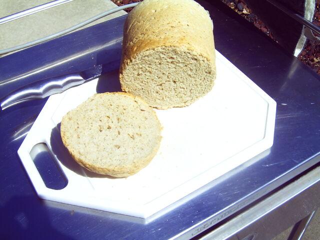 File:Freshly baked spelt bread from a solar cooker.JPG