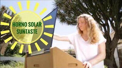 Horno Solar Suntaste 🔅 Funcionamiento y Características