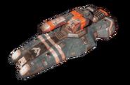 Hiigaran Pulsar Gunship