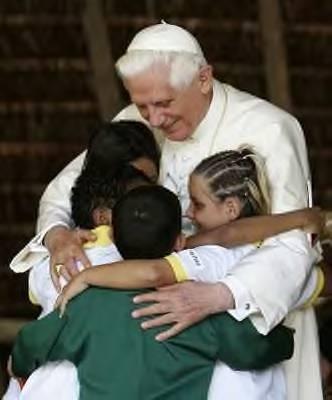 File:PopeBenedictXVI kids.jpg