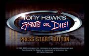 Tony Hawk's Skate or Die