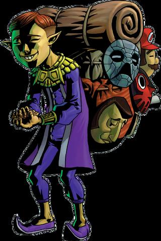 File:1000px-Happy Mask Salesman Artwork (Majora's Mask).png