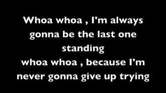 Last One Standing-Simple Plan Lyrics