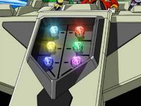 Chaos Emerald Mech Panel