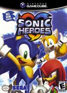 Sonic Heroes Coverart