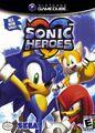Sonic Heroes Coverart