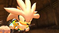 Sonic Generations Silver levitate
