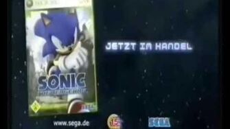 Sonic the Hedgehog 2006 TV Spot Deutsch
