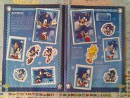 Sonic Sticker Collection pages 4-5