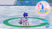 Sonic and Blaze Figure Skating Spiral
