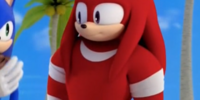 Knuckles the Echidna (Mirror Dimension)