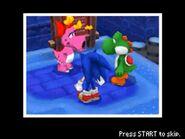 Sonic, Yoshi & Birdo