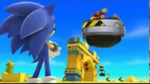 Sonic Lost World REAL English Cutscene