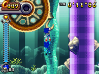 Bungee Rope (Sonic Rush Adventure)