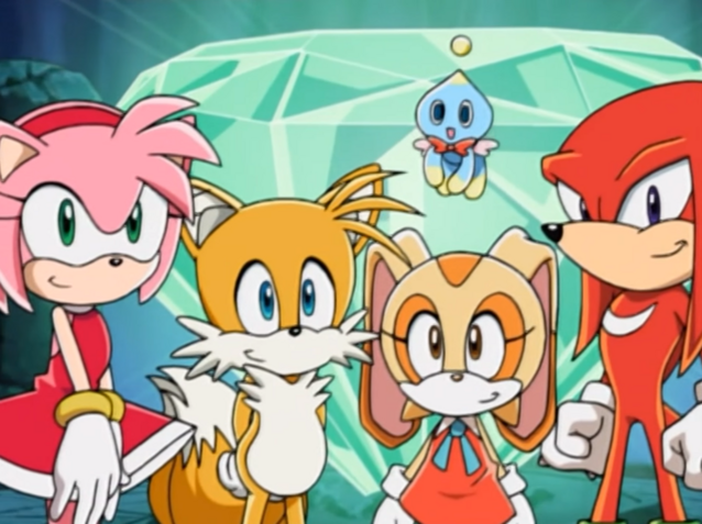 File:Amy Tails Cream and Knuckles.png