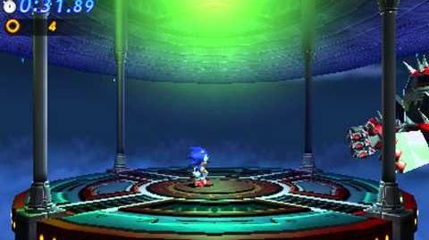 Sonic Generations 3DS - Big Arm