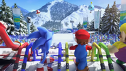 Mario & Sonic at the Olympic Winter Games - Opening - Screenshot 11