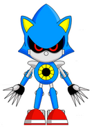 Classic Metal Sonic with Shades