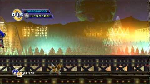 Sonic 4 Episode 2 - White Park Boss Metal Sonic