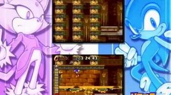 Sonic Rush • Trailer TGS 2005 • DS