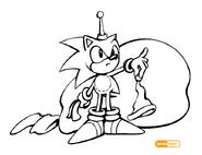 Sonic santa