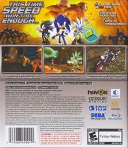 Sonic The Hedgehog (2006) - Box Artwork - Ps3 US Front And Back- (1)